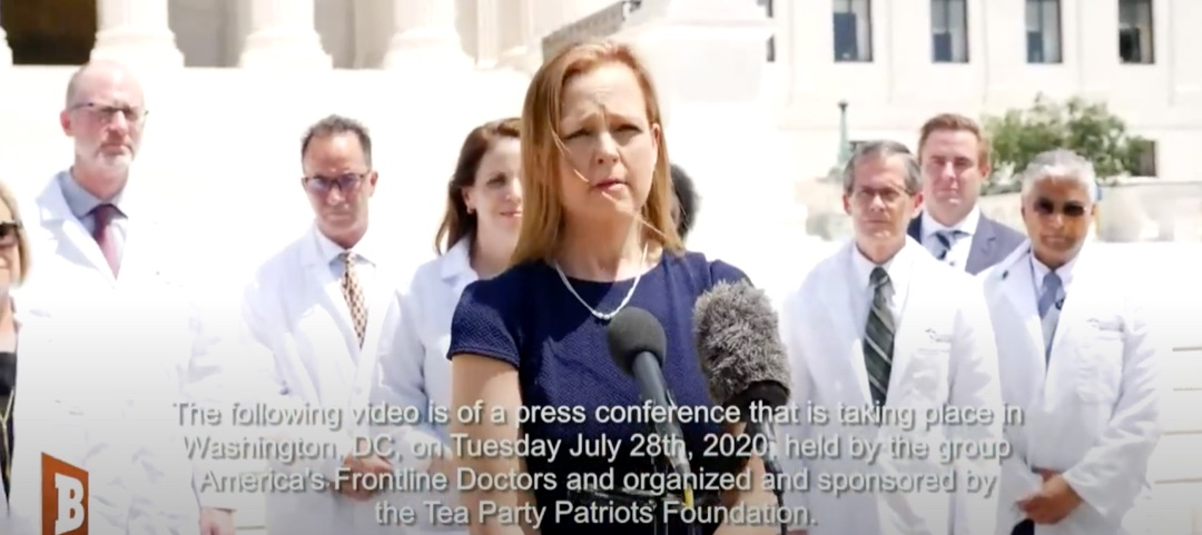 Silenced Frontline Doctors Hold Capitol Hill Press Conference to Challenge Big Tech